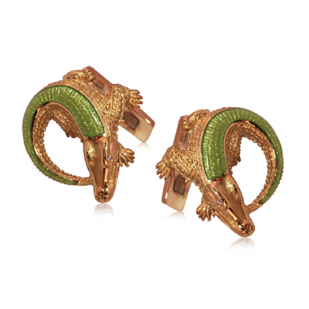 "CUFFLINKS  ""ALLIGATORS"" COLLECTION"