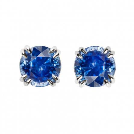Blue Sapphire Ear studs
