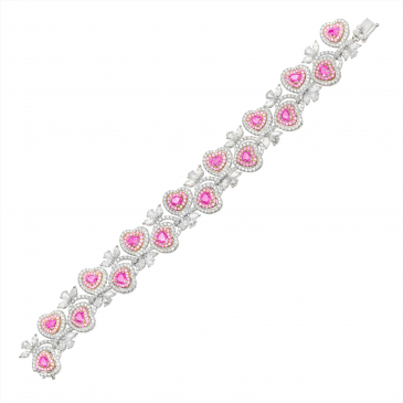 Natural Pink Diamond Bracelet