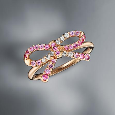 Multicolored Sapphire Ring